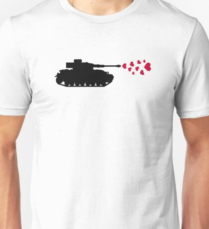 Tank hearts peace Unisex T-Shirt