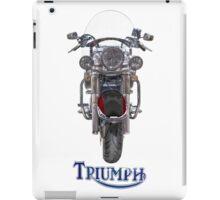 Triumph Thunderbird LT Red iPad Case/Skin
