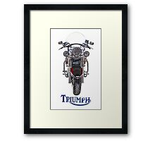 Triumph Thunderbird LT Red Framed Print