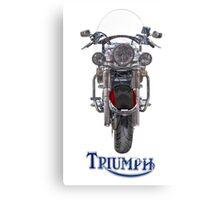 Triumph Thunderbird LT Red Canvas Print