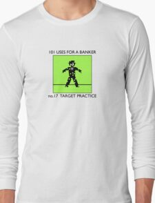 no.17 TARGET PRACTICE Long Sleeve T-Shirt