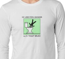 no.15 TOILET BRUSH Long Sleeve T-Shirt