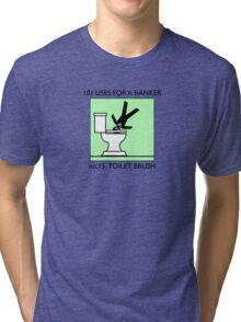 no.15 TOILET BRUSH Tri-blend T-Shirt