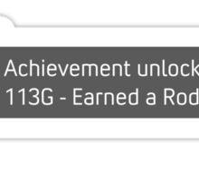 Achievement Unlocked! Earned a Rodimus Star! Sticker
