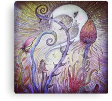 Whimsical Illustration  Canvas Print