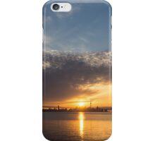 Brilliant Toronto Skyline Sunrise Over Lake Ontario iPhone Case/Skin