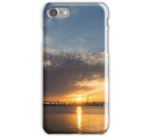 Brilliant Toronto Skyline Sunrise Over Lake Ontario iPhone Case/Skin