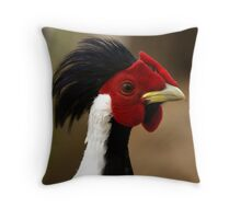 Silver Pheasant Throw Pillow