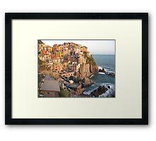 Manarola, Le Cinque Terre Framed Print