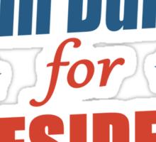 kevin durant for president Sticker