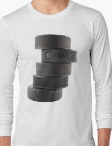 Official ice hockey pucks Long Sleeve T-Shirt
