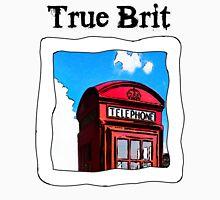 True Brit - Red British Phone Box T-Shirt Unisex T-Shirt
