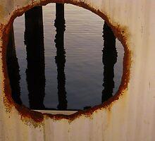 """Under Pier """"D"""" Los Angeles Port by CynLynn"""