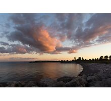 Cloud and Cove Photographic Print