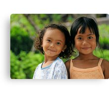 Kids of Bali -2- Canvas Print