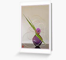 Ikebana-047 Greeting Card Greeting Card