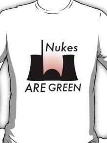 Green Nukes T-Shirt