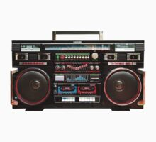Gigantic Ghetto Blaster by btphoto