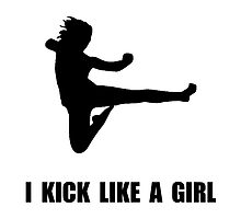 Kick Like A Girl by AmazingMart
