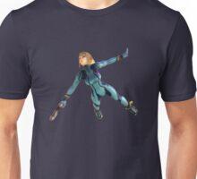 Zero Suit Samus flying Unisex T-Shirt