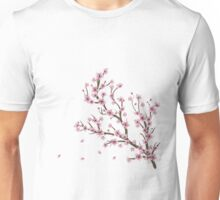 Blooming Sakura Branch 4 Unisex T-Shirt