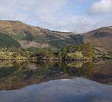 Eilean Munde on Loch Leven by lynncuthbert