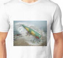 Atom Swimmer Saltwater Wooden Fishing Lure Unisex T-Shirt