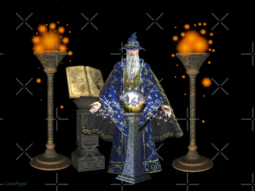 Wizard`s Crystal Ball by LoneAngel