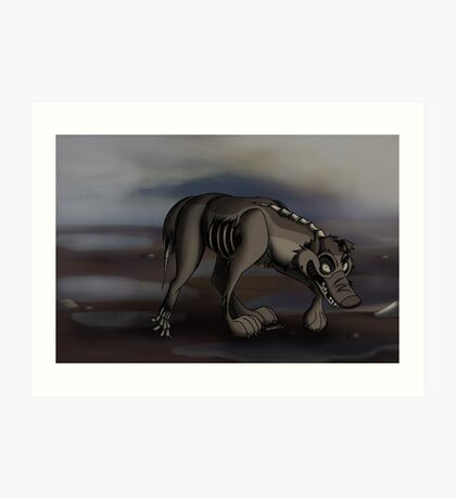 The Dead Bark Back Art Print