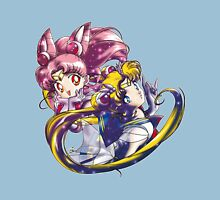 Super Sailor Moon & Chibi Moon (edit 1/A) T-Shirt