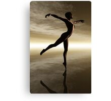 The Dance of Natural Beauty Canvas Print