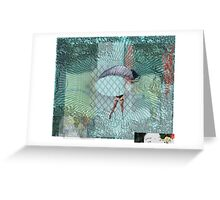 ISABSTRACT of The 50 Darlingnesses..... Greeting Card