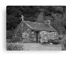 St Johns church, Glencoe Canvas Print