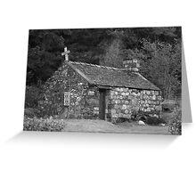 St Johns church, Glencoe Greeting Card
