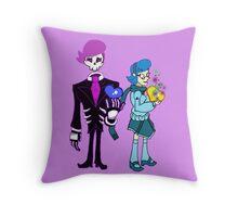 Lewis and Vivi Throw Pillow