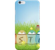 Colorful Easter Eggs iPhone Case/Skin
