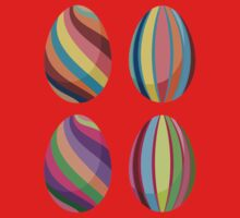 Colorful Easter Eggs 2 Kids Clothes