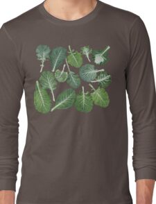 We're eating these wonderful collard greens... Long Sleeve T-Shirt