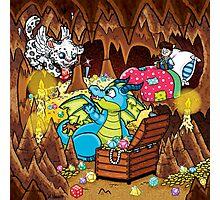 Wee Beasties - Wee Dragon Photographic Print