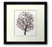 Colorful Tree 3 Framed Print