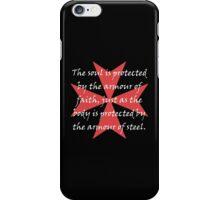Templar Cross iPhone Case/Skin