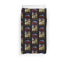 A Tale of Windows and Magical Landscapes Duvet Cover