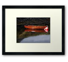 Reflections on Loch Leven Framed Print