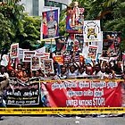 Against Sri Lanka Genocide Riot by Aaron Foo Chee Mun