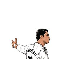 cr7 celebration by punturex