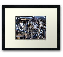 Vincent HRD Engineering Framed Print