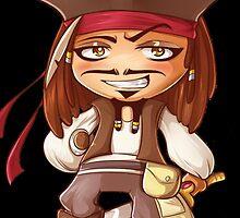 jack sparrow kid by punturex