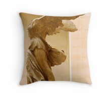 Winged Victory Throw Pillow