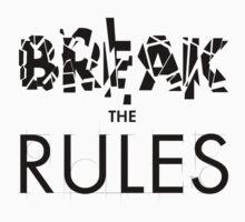Break The Rules One Piece - Short Sleeve