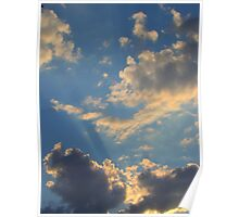Sunset Clouds 2 Poster